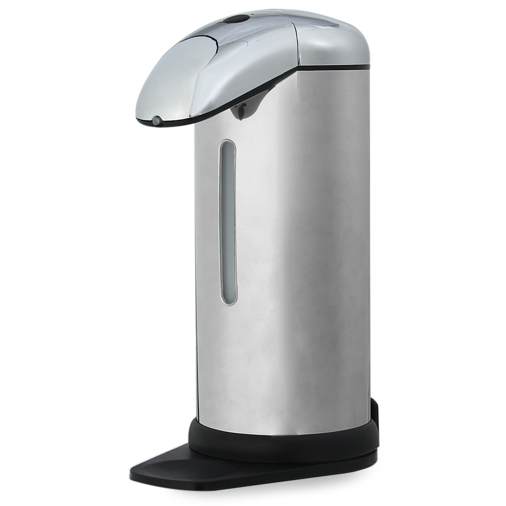 automatic soap dispenser 500ml new stainless steel ir sensor touchless automatic liquid soap dispenser for kitchen - Automatic Soap Dispenser