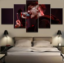 5 Pieces HD Print Large Lil Peep Music Poster Cuadros Decoracion Paintings on Canvas Wall Art for Home Decorations Wall Decor(China)