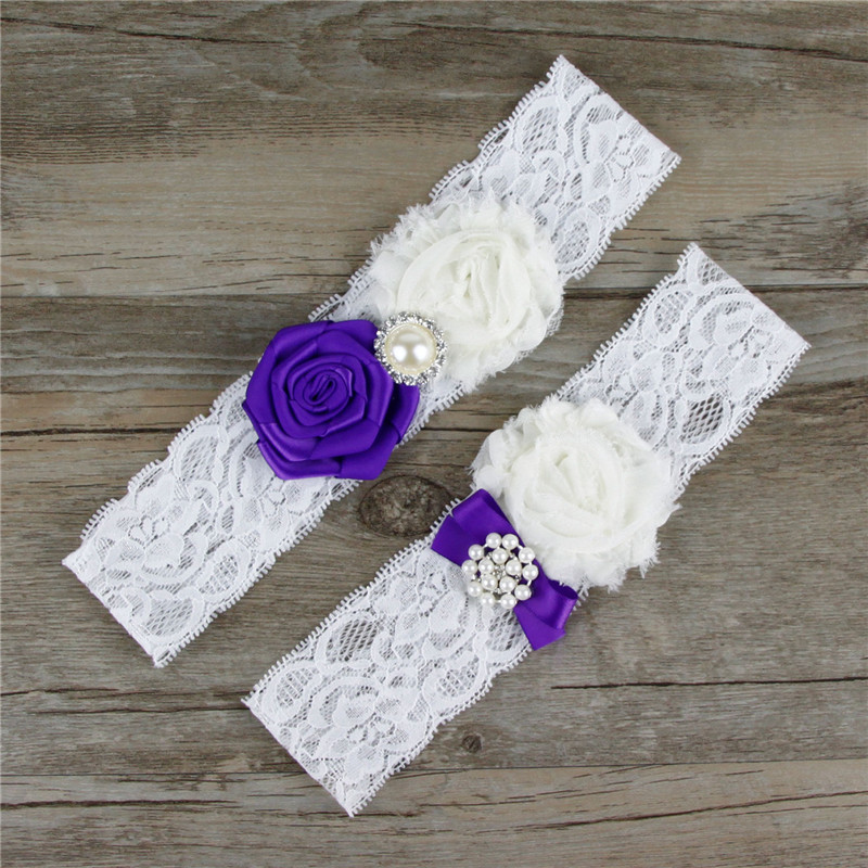 Sexy Garter For Women Princess Cosplay Wedding Garters Accessories Party Bridal Lace Floral Leg
