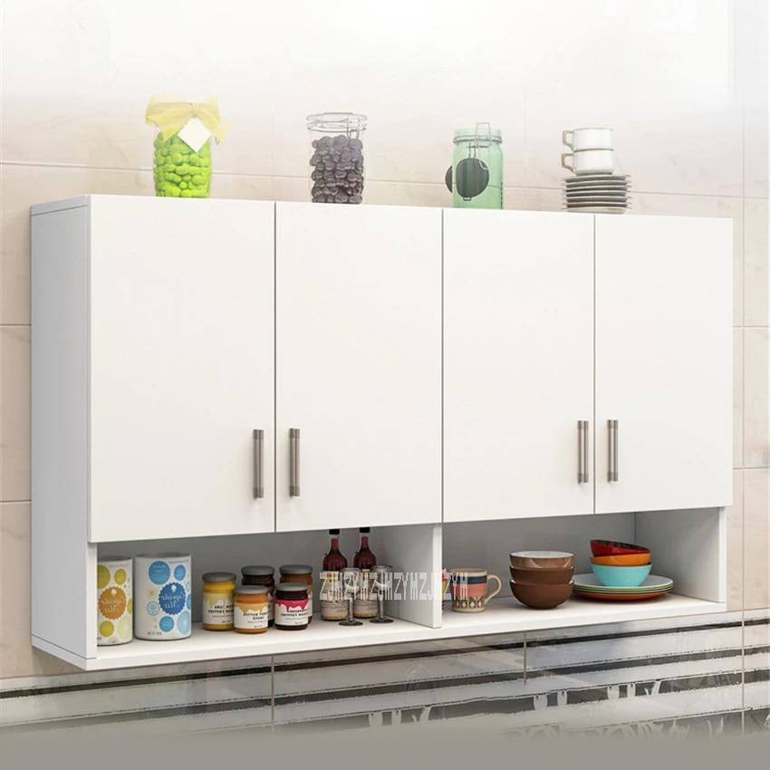 armoire murale suspendue pour cuisine meuble de salle de bain combinaison de 4 portes ry 003