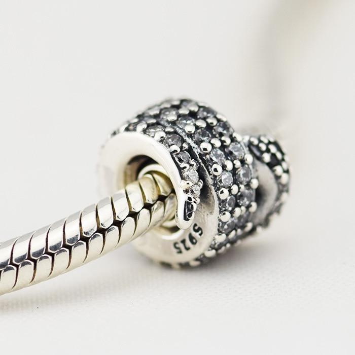 acheter 925 sterling silver charms convient pandora bracelet serpent argent. Black Bedroom Furniture Sets. Home Design Ideas