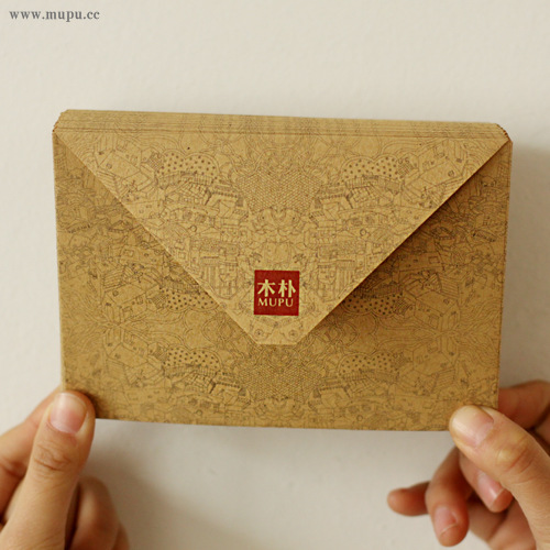 10 Pcs/lot Vintage Kraft Envelope Postcards Greeting Card Cover Brown Kraft Envelopes Stationery Zakka School Supplies
