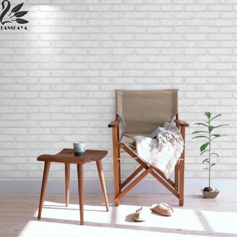 2017 new arrival real pvc wallpaper decoration waterproof brick hotel wall stickers home decor living room - Brick Hotel Decoration