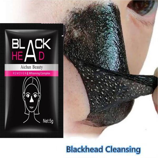 Removedor de espinillas máscara Facial reparación de la nariz limpieza profunda cuidado de la piel exfoliación de máscaras Purificación de carbón negro barro belleza Facial
