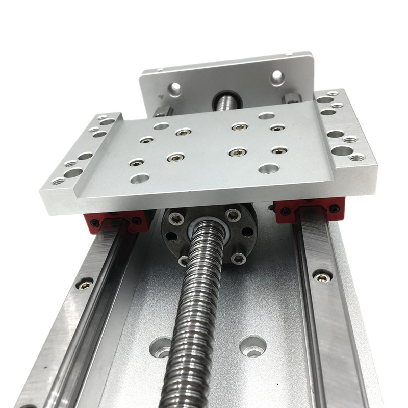 Купить с кэшбэком X Y Z Axis Sliding Table Cross Slide SFU1605 Ballscrew Linear Stage Motion Actuator Heavy Load for CNC DIY Milling Drilling
