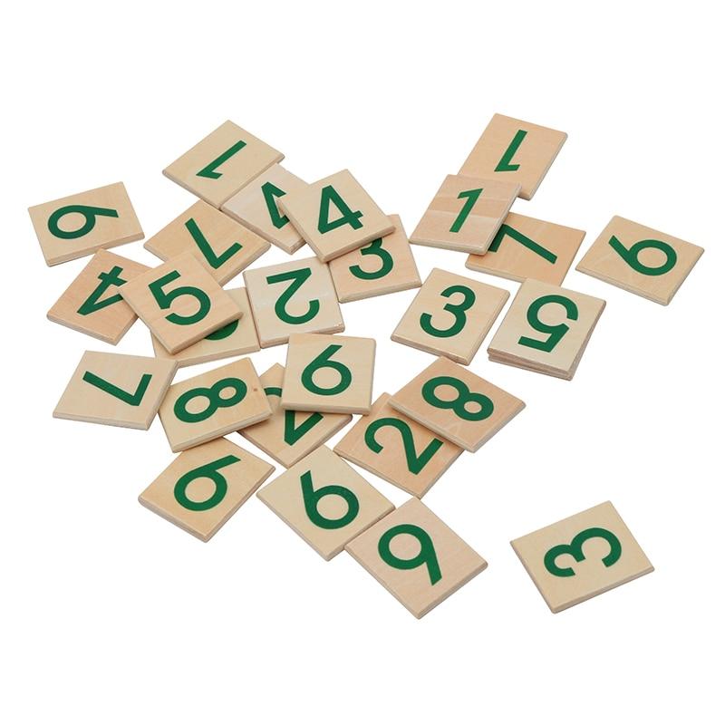 Montessori enfants jouet bébé bois doré perle matériaux d'apprentissage éducatif préscolaire formation Brinquedos Juguets - 6