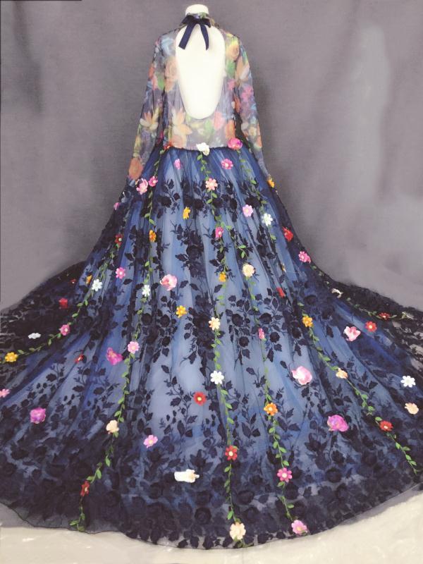 Elegancka suknia ślubna na zamówienie sukienki dla dziewczynek w - Odzież dla niemowląt - Zdjęcie 5