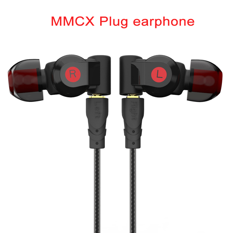 MMCX Dynamic DD+2BA Hybrid Triple Driver D200 HiFi Earphone for Shure SE215 SE535 SE846 Replacement Cable Monitor IEM Headset 2016 senfer 4in1 ba with dd in ear earphone mmcx headset with upgrade cable silver cable hifi earbuds