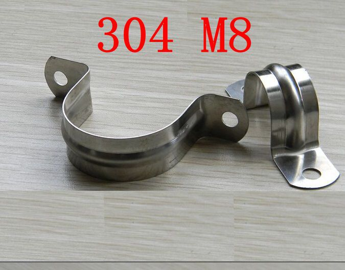 M  stainless steel riding clip pipe clamp