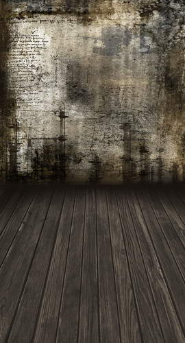 Custom washable wrinkle free grunge wall wood floor photography backdrops for model photo studio portrait backgrounds HG-207 custom vinyl cloth print 3 d blue wood wall floor photo studio backgrounds for portrait photography backdrops props s 2341