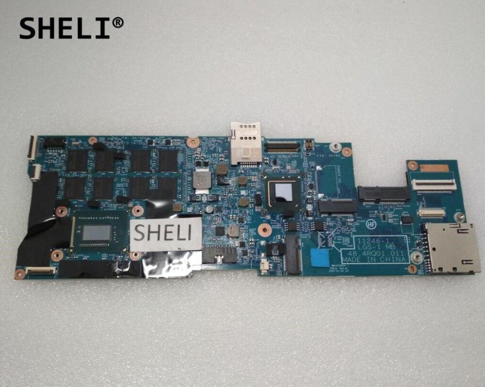 SHELI pour Lenovo Think. Pad X1 carte mère avec I7-3367U CPU 8 GB mémoire 48.4RQ01.011 FRU: 04X0495