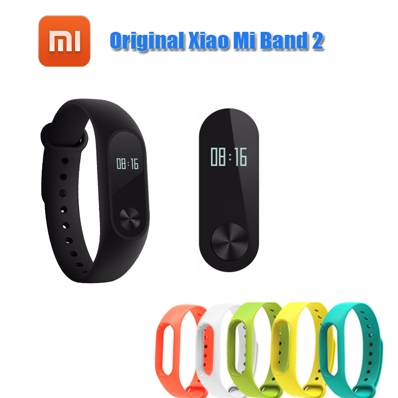 Original Xiaomi Mi Band 2 Smart Fitness Bracelet Watch miband 2 Smart Mi Band OLED Display Touchpad Heart Rate Monitor Bluetoot in stock original xiaomi mi band 3 miband 3 smartband oled display touchpad heart rate monitor wristbands bracelet xiaomi mi 8