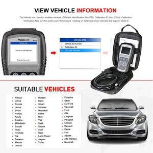 Image 5 - Autel Maxilink ML619 OBD2 Scanner ABS SRS CAN OBDII OBD 2 Code Reader Car Auto Diagnostic Tool PK AL619 Free Update Lifetime