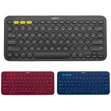 Logitech K380 мульти-устройства Bluetooth клавиатура Портативный мини клавиатура для Windows Mac OS Android iOS Компьютерная периферия Запчасти