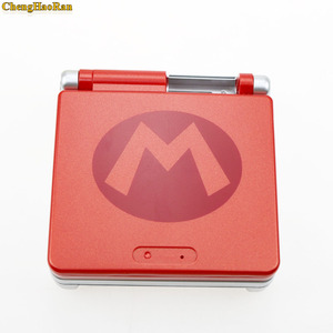 Image 3 - 5 sets For Nintendo GBA SP Super Mario Full Housing Shell Case Cover Handle Game Console Part Red Color For Gameboy Advance SP