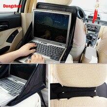 Dongzhen автомобиля Многофункциональный Автокресло сумка для хранения Tidy Организатор DVD ноутбук держатель лотка Путешествия Авто Салонные аксессуары