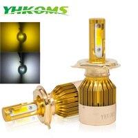 YHKOMS H4 H7 LED H1 H3 H8 H9 H11 9005 HB3 9006 HB4 9012 880 881