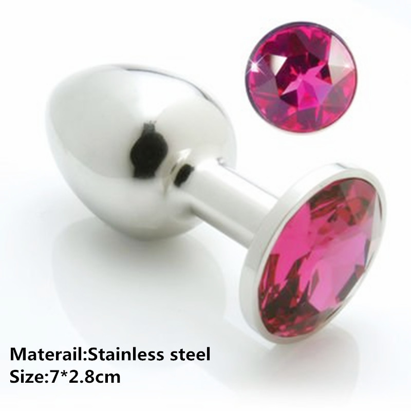 LOAEY Metal Anal Toys Butt Plug Stainless Steel Anal Beads Plug Sex Toys For Women Adult