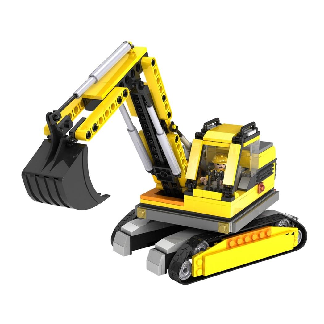 aliexpress com buy 319pcs cogo city construction engineering