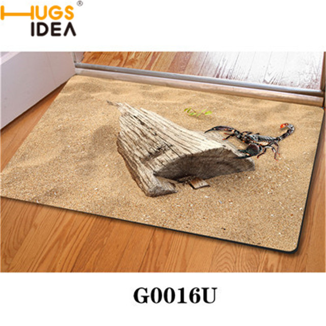 Merveilleux Scorpions Desert Creative Funny Thin Indoor Carpets Anti Slip Scary Kawaii  Funny Vivid Door Mats