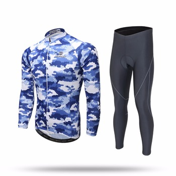XINTOWN Cycling Sets Long Sleeve Breathable Jersey Clothes Bicicleta Mountain Bike Ropa Ciclismo Bicycle Set Long Sleeve HAIYANG