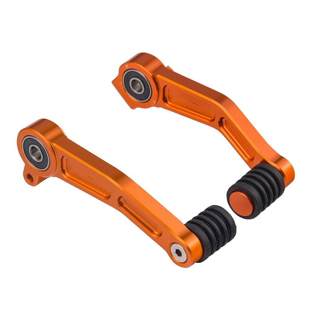 Доставка бесплатная ЧПУ Алюминиевый Тормозная клатч передач педаль рычаг для KTM герцог 125 200 390 2013-2014