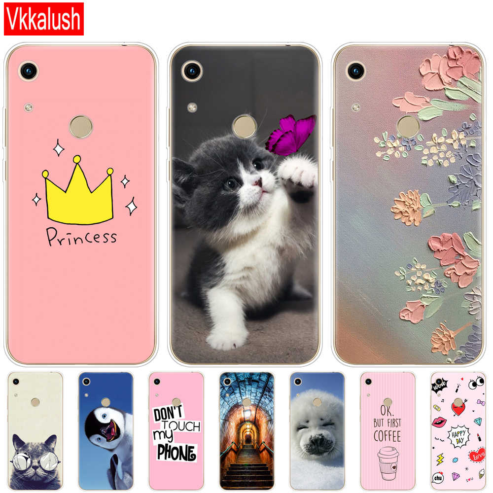 Case For Honor 8A Case For Huawei Honor 8A Case Silicon TPU Cute Back Cover Phone Case For Huawei Honor 8A JAT-LX Case Soft