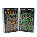 1 Piece Novelty  Black Glow In The Dark Bar KTV Noctilucent Poker Cards Night Luminous Playing Card As Collection Special Poker