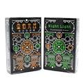 1 Unidades de La Novedad Negro Glow In The Dark Bar KTV Noche Luminous noctilucentes Cartas de Póquer Naipe Como Colección Especial Poker