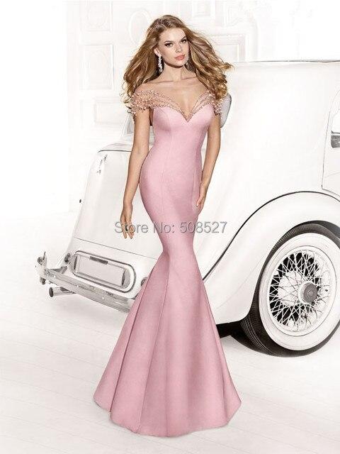 Nuevo estilo por encargo rosado del satén listones arco diamante ...