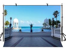 150x220cm Travel Attraction Backdrop Beautiful Tourism Holiday Resort Photography Background for Camera Photo Props