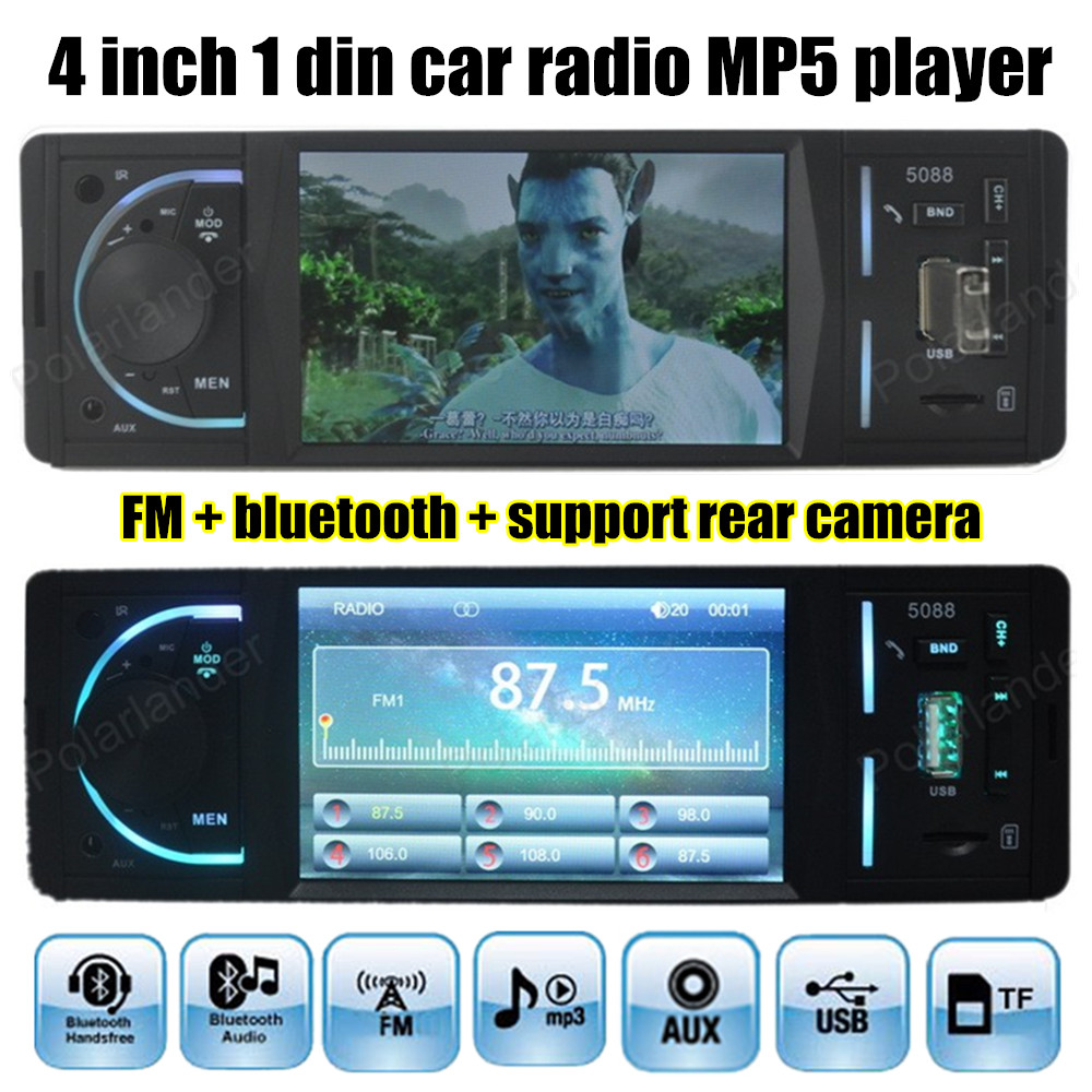 Hot 12v Bluetooth Car Mp4 Mp5 Player Support Rear View Camera 4 Delixi Air Circuit Breaker Cdw16300 China Manufacturer Inch Tft Hd Digital Stereo Fm Radio Audio Video Usb Tf