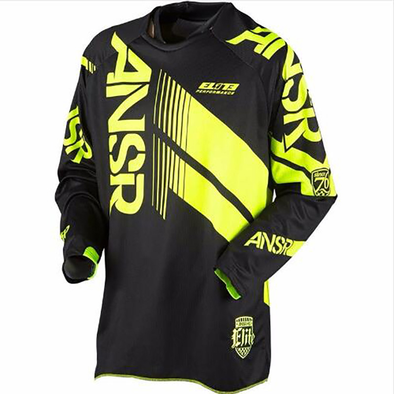 2018 New Arrival answer riding motocross mountain bike mx New Arrival downhill quick dry long sleeve cross t shirt clothing rac