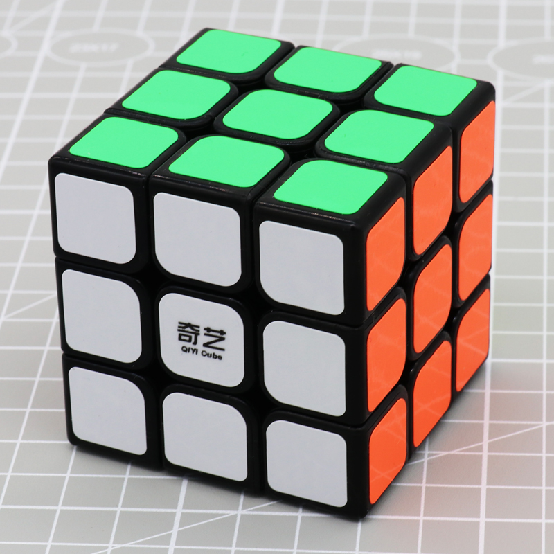 Lower Price with 2019 New Brand Magic Cubes Professional 3x3x3 5.7cm Sticker Speed Twist Puzzle Toys For Children Gift Cube Black White