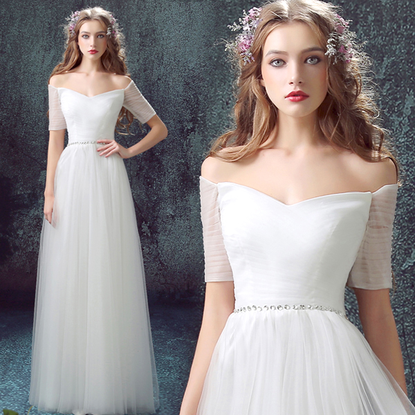 8a160107e9f s 2016 new arrival stock maternity plus size bridal gown evening dress white  long sexy graduation graduated 7591