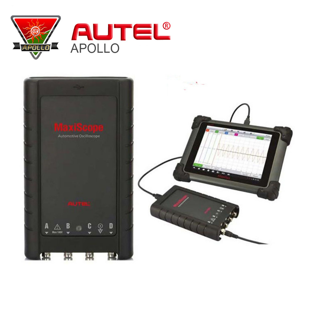 Autel MaxiScope MP408 4 Channel Automotive Oscilloscope Basic Kit Works with Max