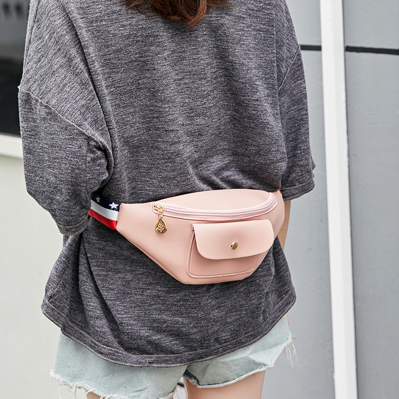 Waist Bag Women canvas Belt Bag Waist Pack Belt Wallets Fanny Chest Bags Messenger Mini minimalist Multi-function Mobile phone