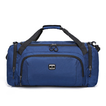 Gym Travel Duffel Bag Express Weekender Bag 54L Classic Oxford Duffel Bag Overnight Carry On Luggage with Shoe Pouch Compartment цена