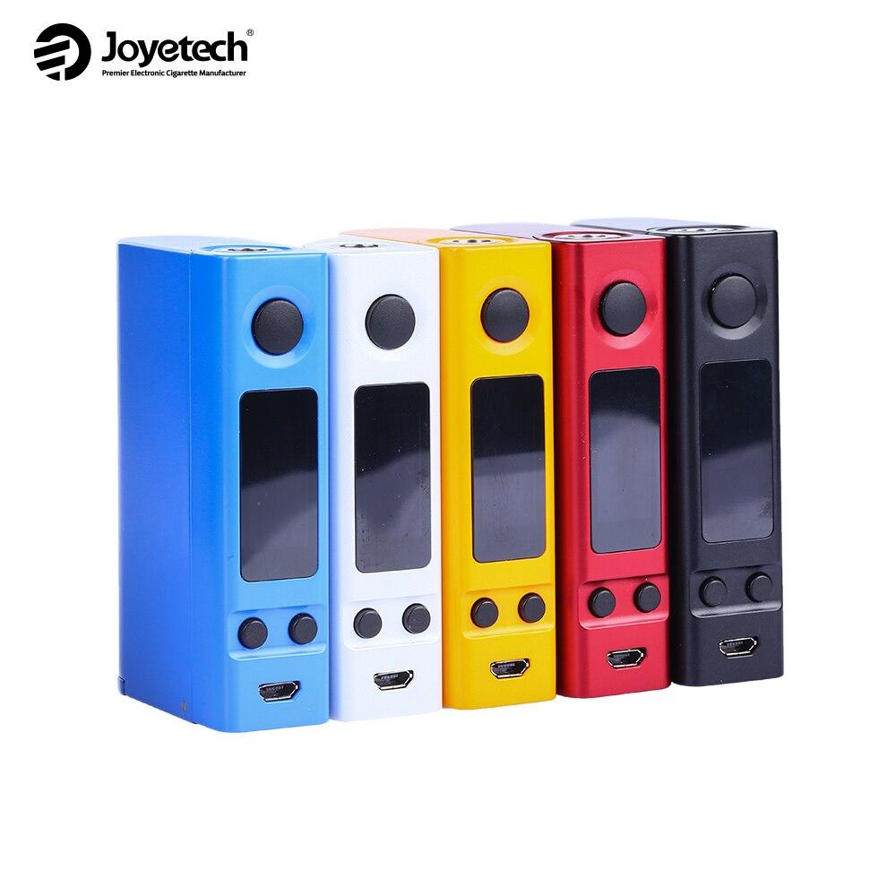 Joyetech eVic VTC Dual Box MOD 3.5ohm VV MOD TC/TC Modalità 75 W Sigaretta Vapor Elettronica NO 18650 Batteria E Cigarro Vape Originale