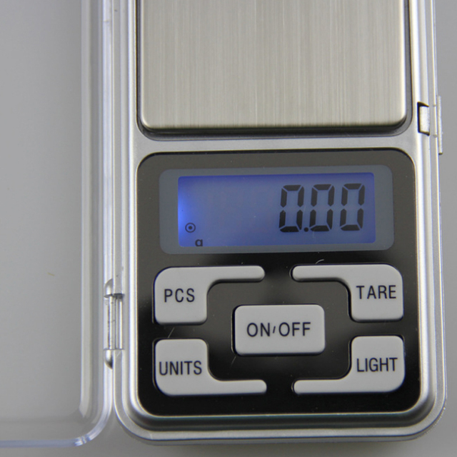Electronic LCD Display Scale Mini Pocket Digital For Jewelry 100/200/300/500g X0.01g High Accuracy Weigh Balance 5