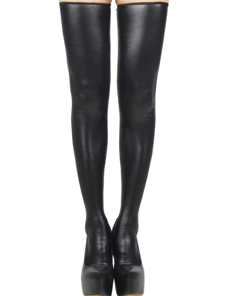 R80043-Popular-super-deal-black-leather-stockings-back-zipper-high-quality-women-stocking-brand-new-sexy (2)