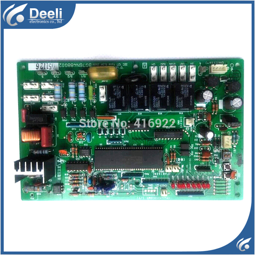 95% new good working for Mitsubishi air conditioning computer board 3P/5P BG76N488G02 on sale запчасти и аксессуары для инструментов 5