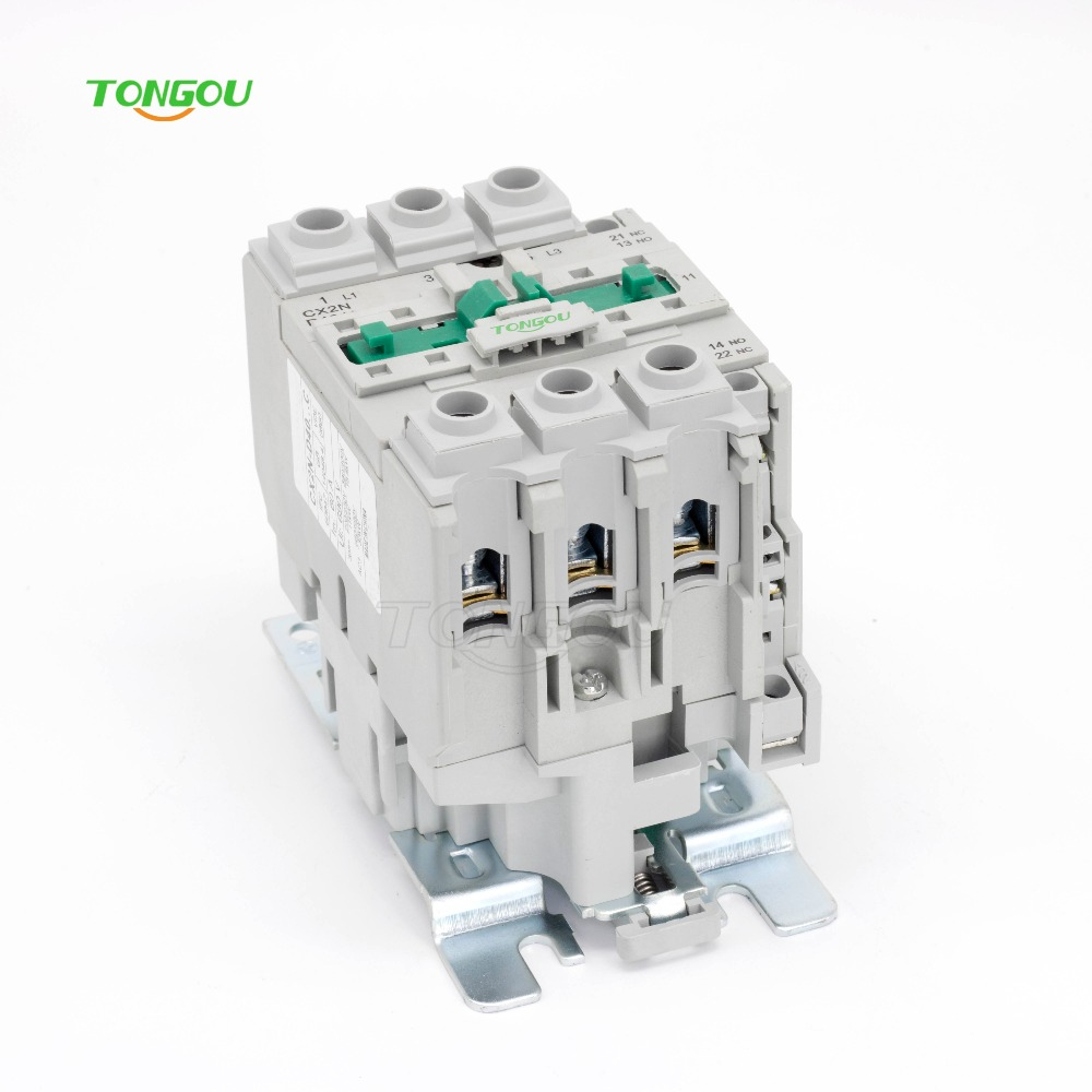 AC 220V 380V 40A Contactor 3 Pole NC LC1 CJX2 Type D4011 50HZ/60HZ Coil gmc 220 ac electromagnetic contactor brand new