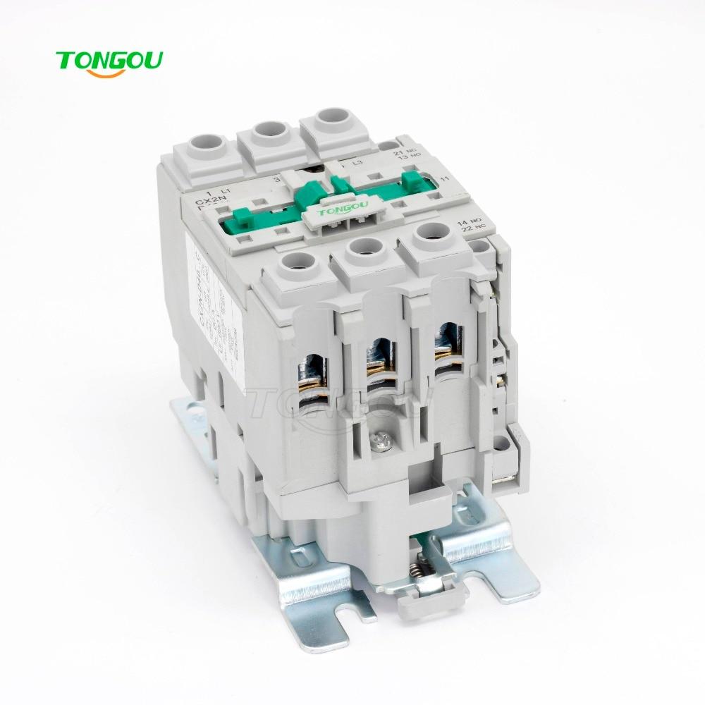 цена на AC 220V 380V 40A Contactor 3 Pole NC LC1 CJX2 Type D4011 50HZ/60HZ Coil