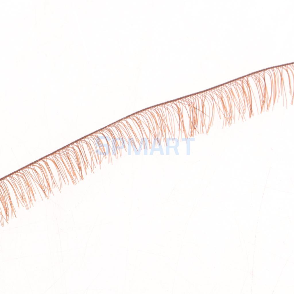 40pc False Eyelashes Dolls Eyelash Strip for BJD Dolls Eyelashes Make up 200*8mm