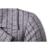 Moda Mens Trench Blends Longo Estilo Slim fit Plaid Pattern recém Designer Homens Casaco Casual Wear Masculino Meninos Casaco 14F32