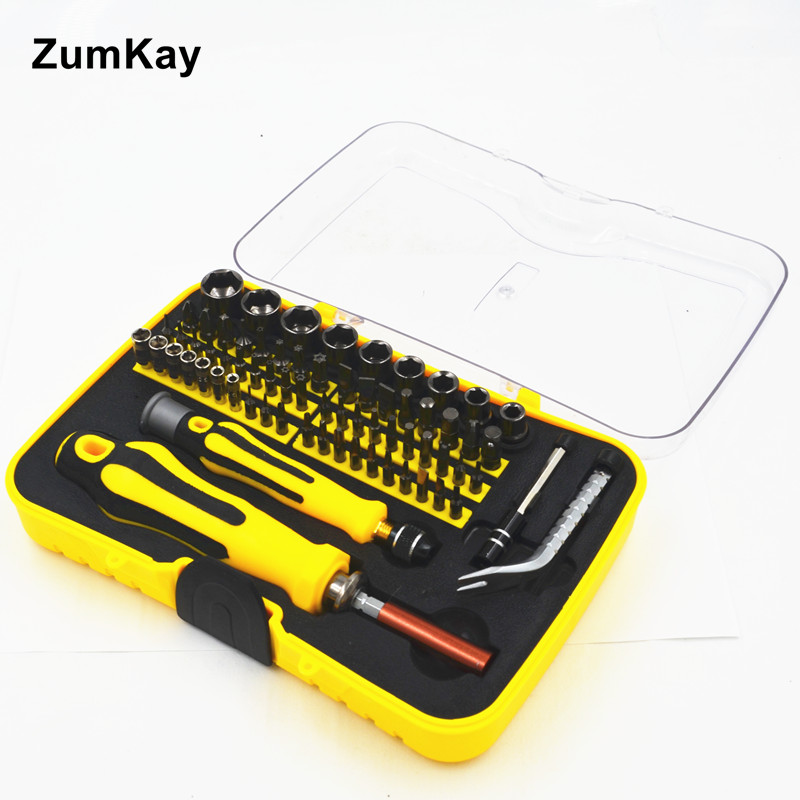 70 In One Multifunctional Screwdriver Knife Sleeve Combination Screwdriver Kit Mobile Phone Computer Disassemble Tools Suit