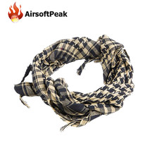 Military Arab Desert Scarf Army Tactical Shemagh KeffIyeh Shawl Scarve Neck Wrap Square Hiking Airsoft Scarves Hunting Accessory
