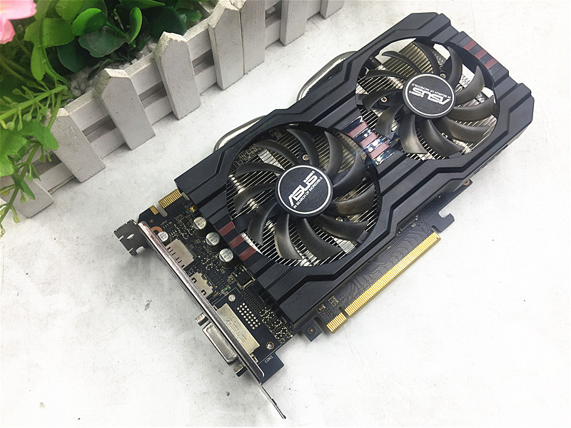 Used, ASUS R7 260X 2GB 128bit DDR5 Gaming Desktop PC Graphics Card ,100% tested good