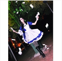 Alice Madness Returns Costumes cosplay for women sexy halloween costumes tailored